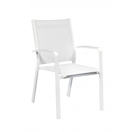 Cosmo Chair White/White