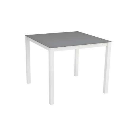 Una Table 90x90cm White/Grey