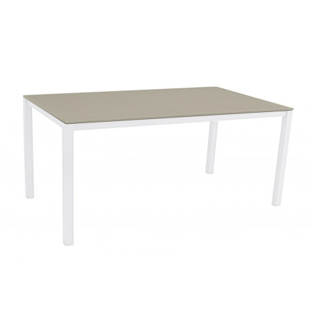 Una Table 150x90cm White/Cappuccino