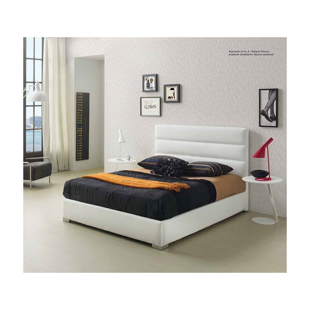 Lidia Faux Leather Bedframe