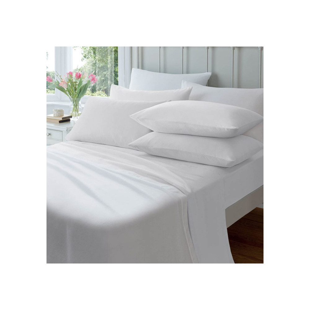 100% Egyptian Cotton Flat Sheets