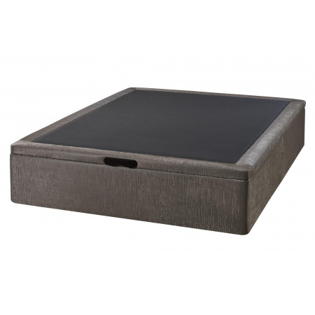 Kubic storage base in fabric or faux leather