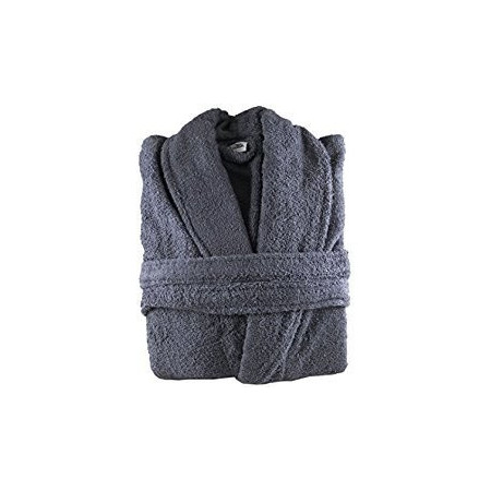 Grey Egyptian Cotton Bath Robes