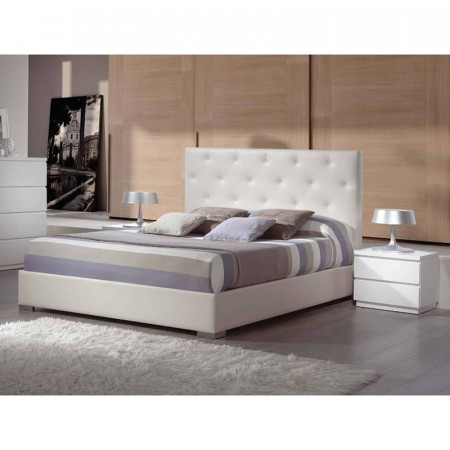 Ana Bedframe in Faux Leather