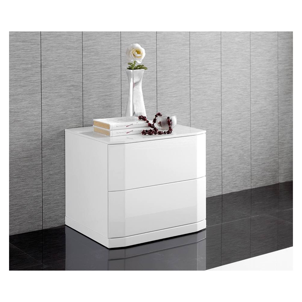 M102 Bedside in White