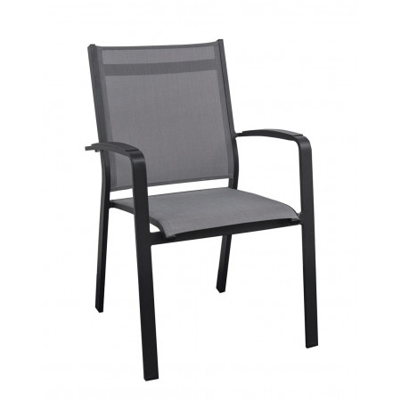 Cosmo Chair Charcoal/Silverblack