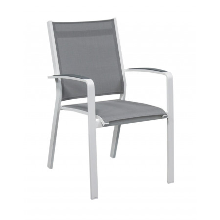 Cosmo Chair White/Silverblack