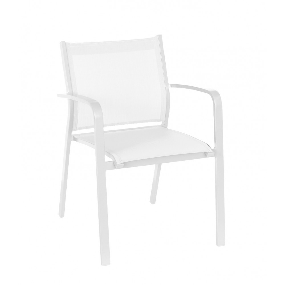 Gallis Chair White/White