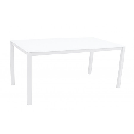 Una Table 150x90cm White/White