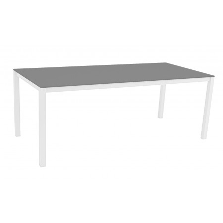 Una Table 200x90cm White/Grey