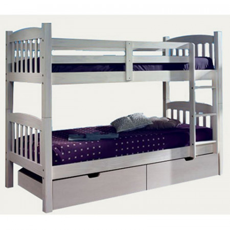 Mediteraneo Bunk Bed White Washed
