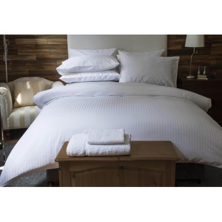 Hotel Suite 540TC Cotton Duvet Cover in White