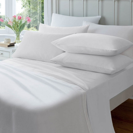 100% Egyptian Cotton 200TC Flat Sheets