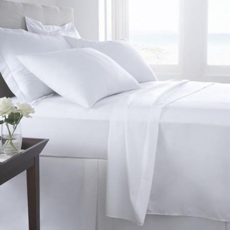 100% Cotton 400TC Flat Sheets
