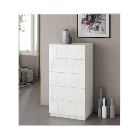 S137 5 Drawer Tall Chest