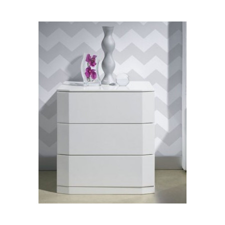 M112 Bedside in White